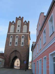 Brama Kamienna z 1330 roku w Pasłęku