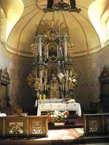 Kościół z XVIII wieku w Ramsowie