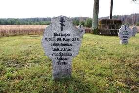 Cmentarz wojenny z I wojny światowej w Snopkach