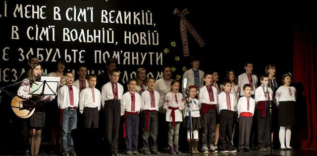 Taras Szewczenko w Lidzbarskim Domu Kultury - full image