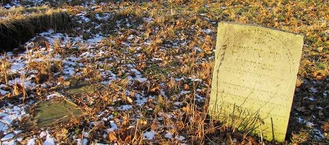 Pasłęk: zabykowy cmentarz żydowski - full image