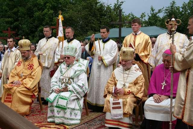 Chrzanowo: cerkiew greckokatolicka pw. św. Piotra i Pawła - full image