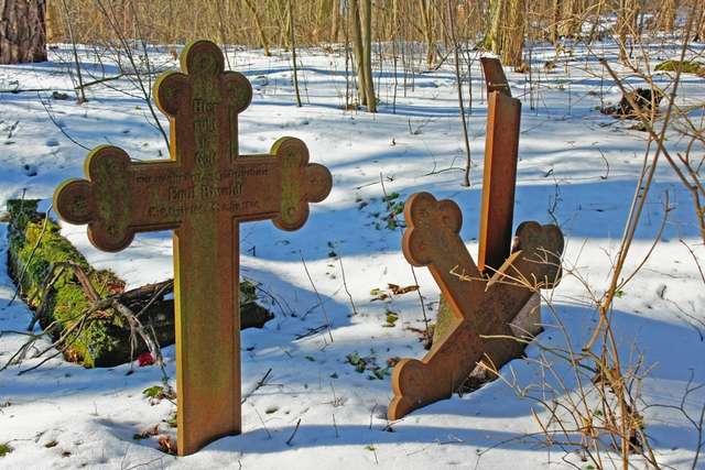 Krutyń: cmentarz ewangelicki - full image