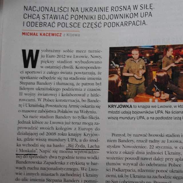 Newsweek: bij Żyda,Lacha i Moskala  - full image