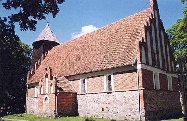 Nowe Kawkowo:kościół z XIV wieku - full image
