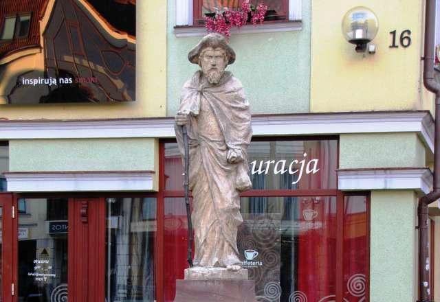 Olsztyn: Pomnik św. Jakuba  - full image