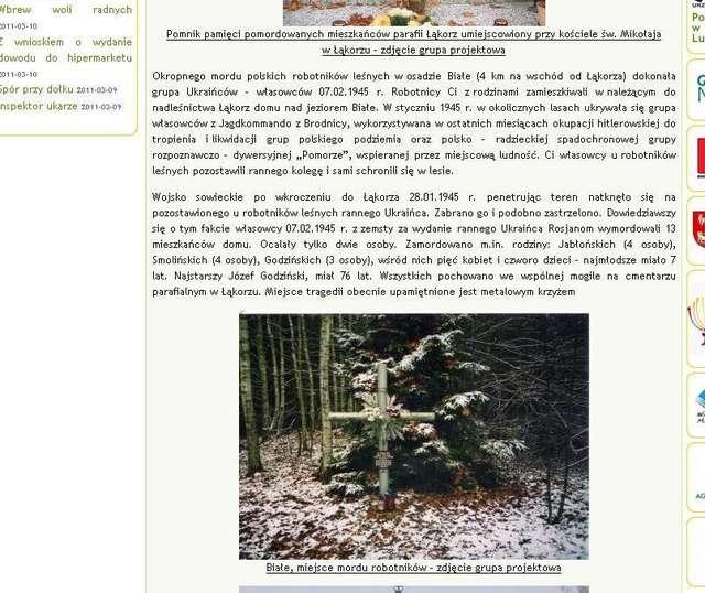 Polaków mordowali Ukraińcy. Nawet kiedy byli Rosjanami - full image