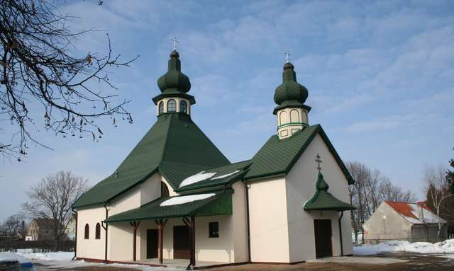 Wydminy: cerkiew greckokatolicka - full image