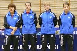 Na zdjęciu: Qian Wang, Maja Krzewicka, Monika Pietkiewicz, Anna Zielińska