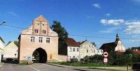 Brama Lidzbarska w Bisztynku