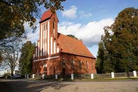 Kościół z 1901 roku w Nowym Dworze
