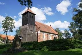 Kościół z XVI wieku w Klewkach
