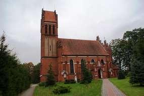 Kościół  św. Józefa  w Kobułtach(1897-1899)