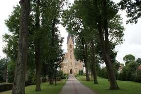Kościół św. Marii Magdaleny (1885) w Rozogach
