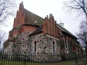 Kościół św. Marcina z XIV wieku w Ełdytach Wielkich