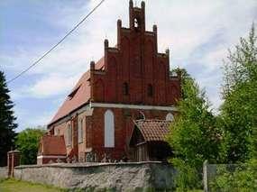 Kościół św. Katarzyny z końca XIV wieku w Henrykowie