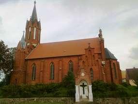 Kościół św. Marii Magdaleny z 1863 roku w Lutrach