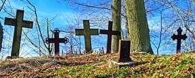 Cmentarz w Ukcie: tyle zostało po Mazurach