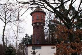 Wieża ciśnień z 1904 roku w Bartoszycach