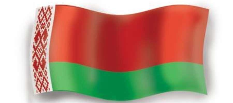 Flaga Białorusi.