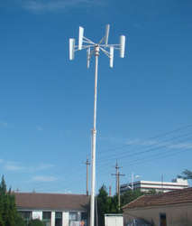 Turbina wiatrowa o osi pionowej to wydajny generator energii dla domu jednorodzinnego, nawet w niezbyt wietrznych rejonach