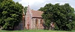 Targowo: kamienny kościół