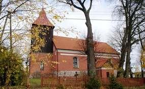 Kościół z XV w., przebudowany XVIII/XIX  w Blankach