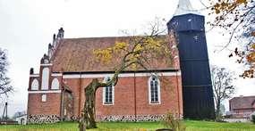 Kościół w Radostowie z końca XIV wieku