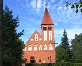Kościół w Spychowie z 1903 roku