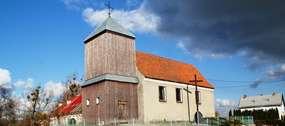 Kościół w Tuławkach z 1782 roku