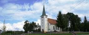Kościół z XIX wieku w Zelkach
