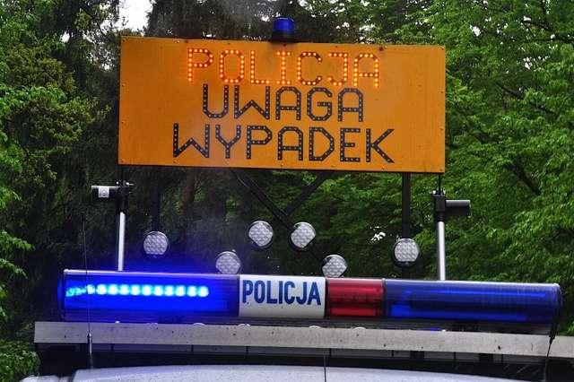 Śmiertelny wypadek pod Kętrzynem - full image