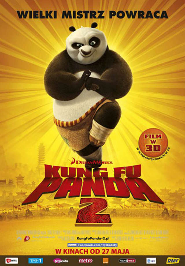 "Plakat filmu ""Kung Fu Panda 2"" - full image"