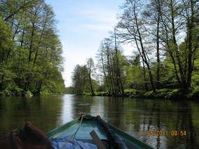 Spływ Łyną z Morawy do Stopek