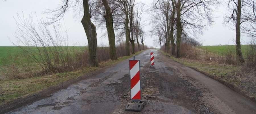 Batalia o przebudowę odcinka drogi wojewódzkiej 507 trwa od paru miesięcy