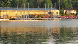 Jezioro Ukiel (Krzywe) w Olsztynie