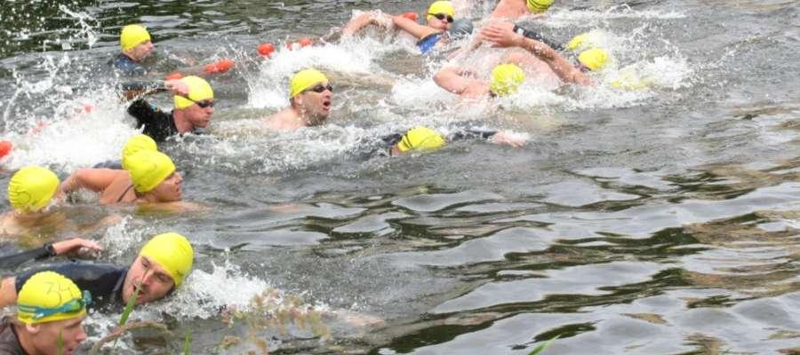 W Mistrzostwach Braniewa w Aquathlonie startowało 50 zawodników