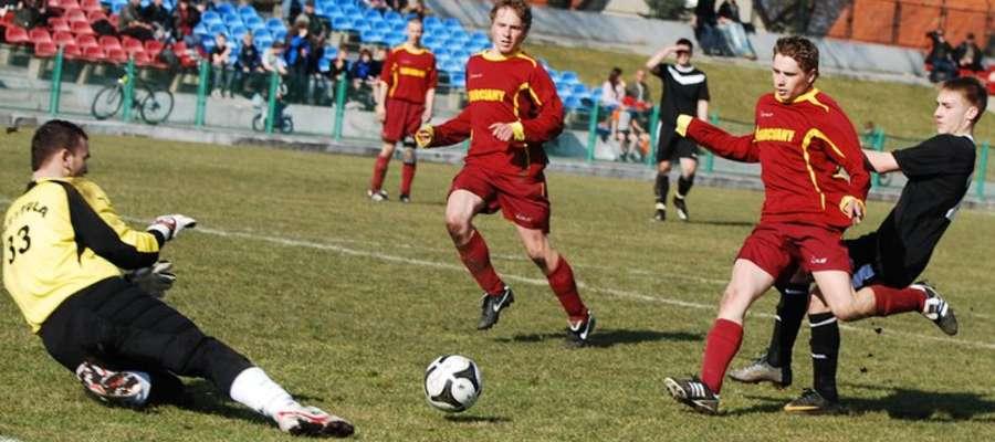 Piłkarze Jurnada grają obecnie w A-klasie...