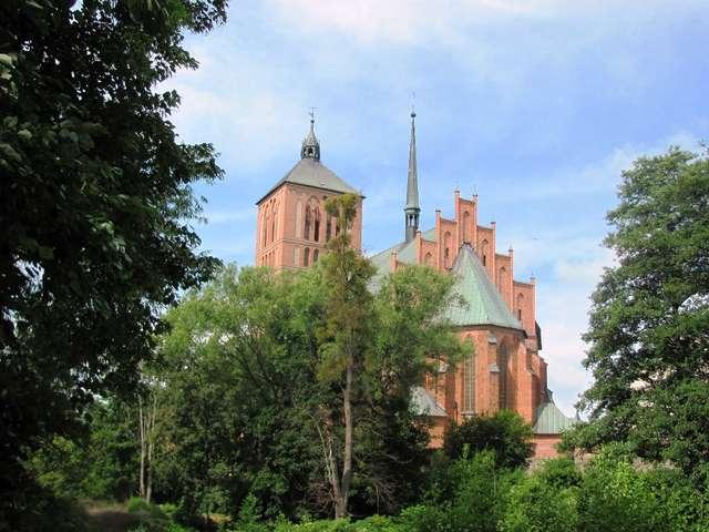 Braniewo: kościół (bazylika) św. Katarzyny - full image