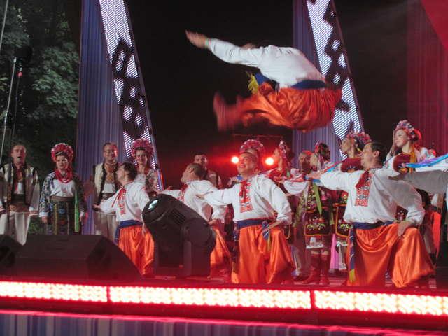 Festiwal Kultury Ukraińskiej w Koszalinie: Rewe ta stohne Dnipr szyrokyj - full image