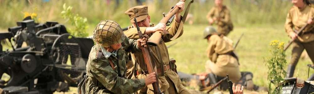 Inscenizacja walk Armii Czerwonej i Wehrmachtu