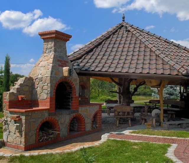 Przy dobrej pogodzie lato spędzajmy w ogrodzie  Dom -> Kuchnia Letnia Maja W Ogrodzie