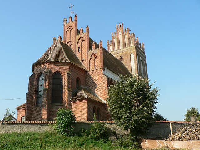 Kościół Narodzenia Najświętszej Maryi Panny w Paluzach, gm. Bisztynek - full image