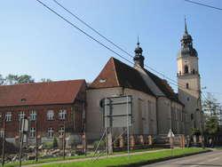 Lubawa: kościół św. Jana