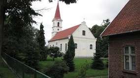 Kościół barokowy w Łęczu