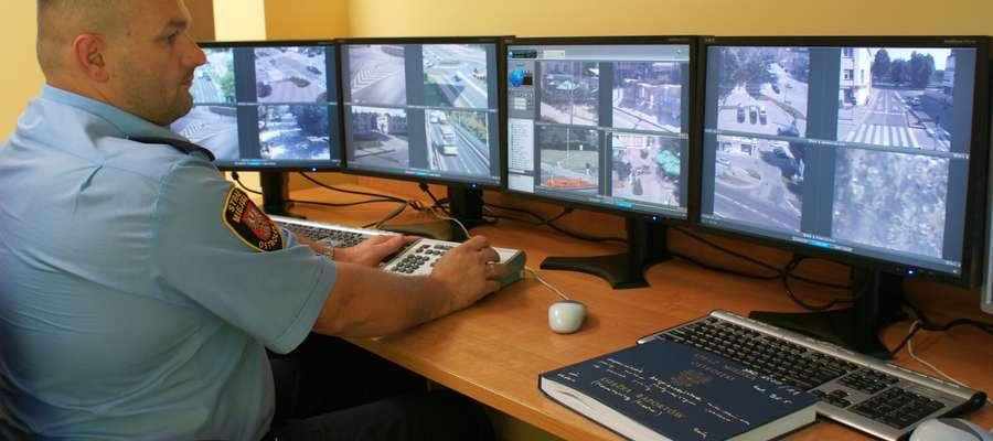 Monitoring miejski, oprócz policji, obsługuje też straż miejska