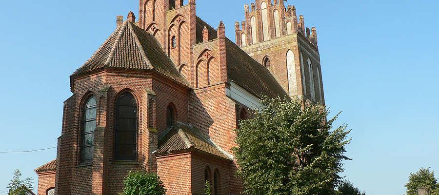 Kościół Narodzenia Najświętszej Maryi Panny w Paluzach, gm. Bisztynek
