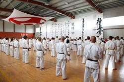 Wakacyjny obóz karate