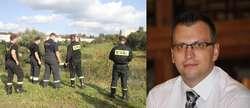 Poszukiwania zaginionego policjanta. Film i zdjęcia z akcji