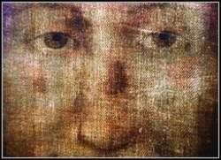 Wizerunek Chrystusa z chusty z Manoppello. Jest identyczny z tym, który można zobaczyć na całunie z Turynu.